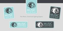 Music Central Branding