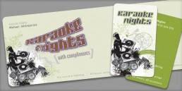 Karaoke Nights Branding